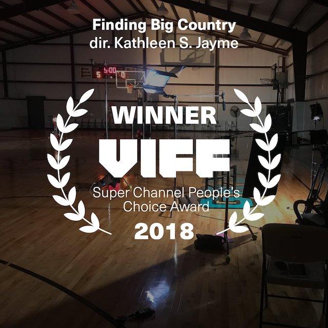 VIFF Awards 2018 Peoples Choice