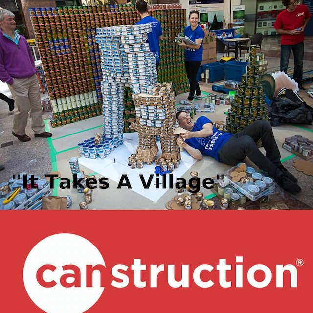 CANstruction 2018 For the Greater Vancouver Food Bank