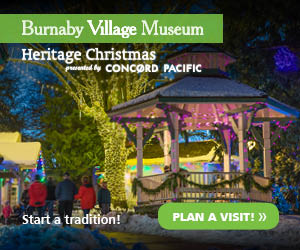 Burnaby Village Museum Christmas