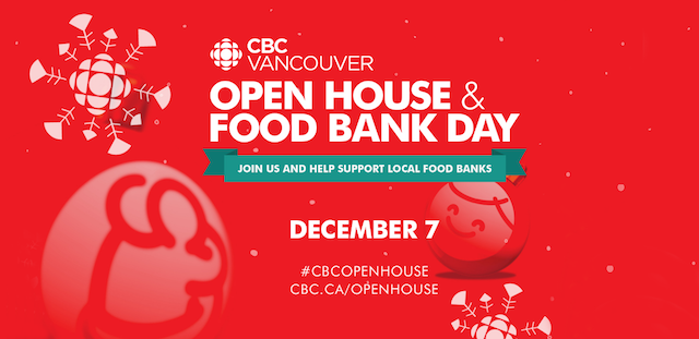 CBC Vancouver Open House & Food Bank Day
