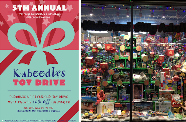 Kaboodles Toy Drive and Gift Card Giveaway