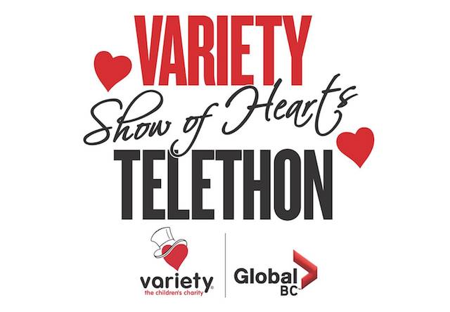 Show of Hearts Telethon for Variety BC