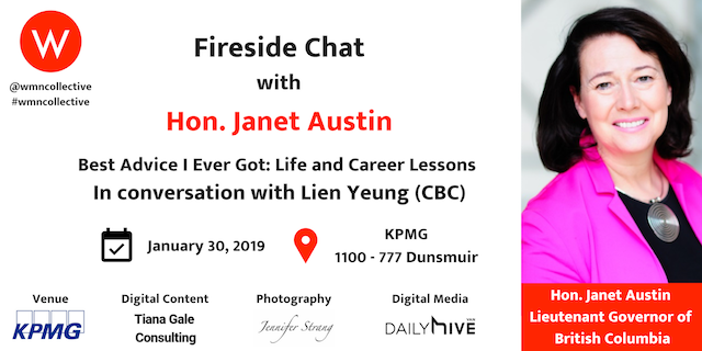 Women's Collective Fireside Chat with Hon. Janet Austin
