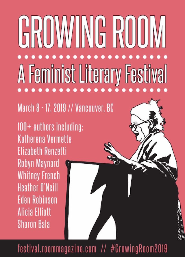 Growing Room A Feminist Literary Festival