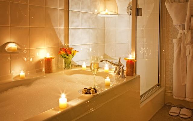 Magnolia bubble bath
