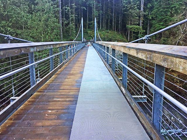 Seymour River Suspension Bridge