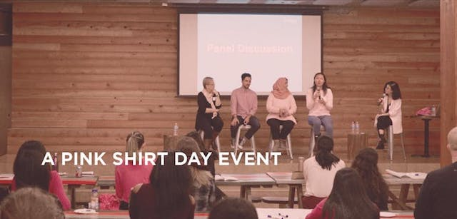 YWCA Panel on Pink Shirt Day