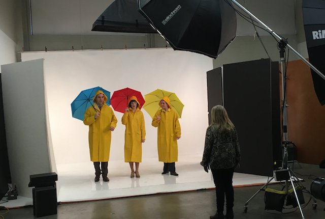 Behind the Scenes Promo Shoot for RCMT's Singin' in the Rain