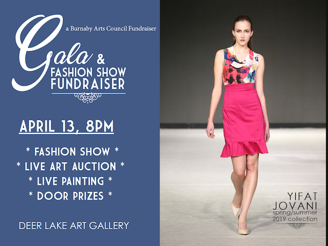 Burnaby Arts Council Gala & Fashion Show Fundraiser