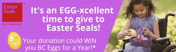 Easter Seals Eggs Campaign