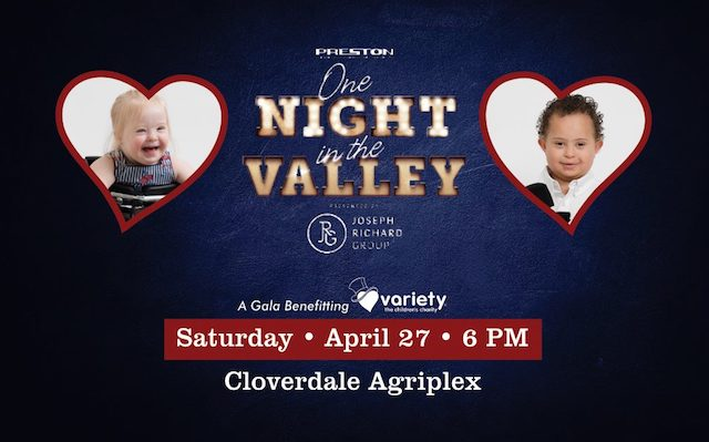One Night in the Valley for Variety BC