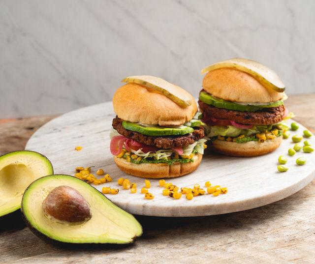 White Spot's Avocado Beyond Burger