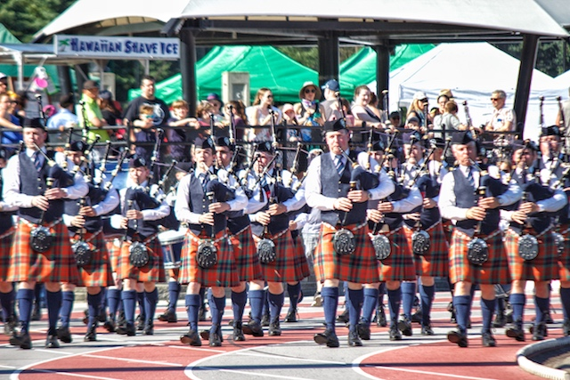 BC Highland Games Pipes