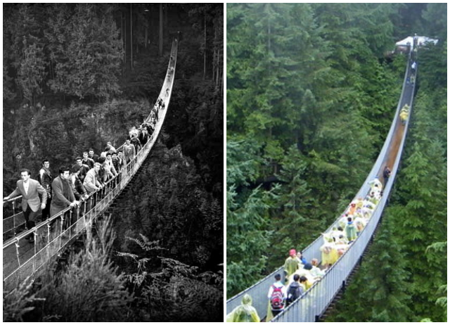 Capilano Bridge_then_now