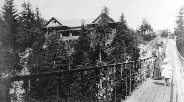 Capilano Suspension Bridge 1910