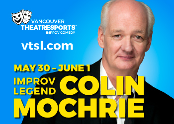 Colin Mochrie in Vancouver