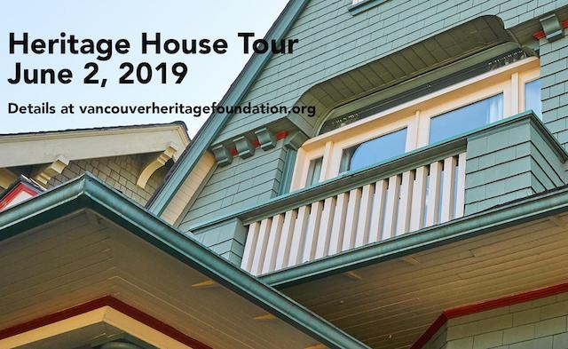 Vancouver Heritage House Tour 2019