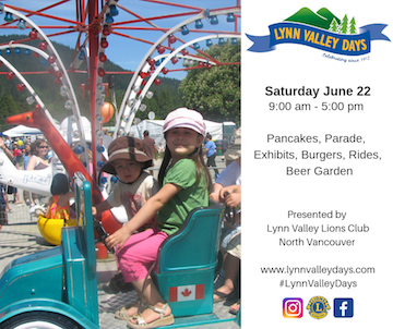 Lynn Valley Days 2019