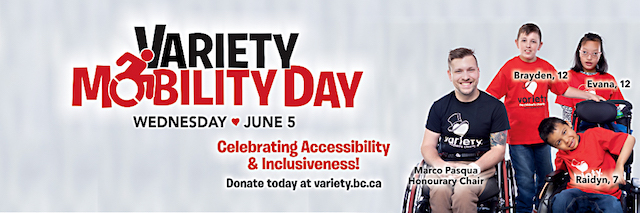 Variety Mobility Day is June 5,2019