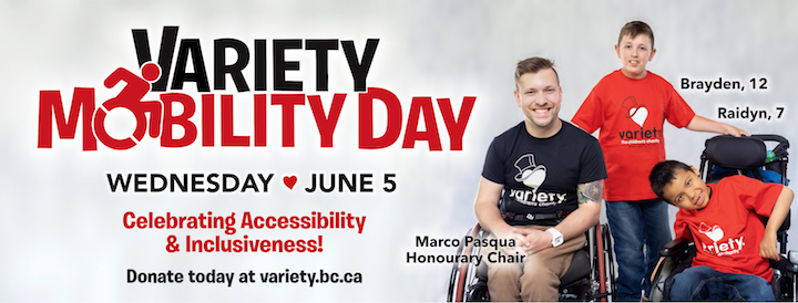 Variety Mobility Day is June 5