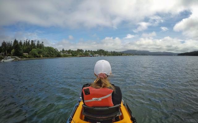 Kayak Sooke Harbour