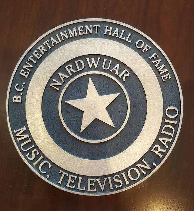 Nardwuar's Star on the BC Entertainment Hall of Fame StarWalk