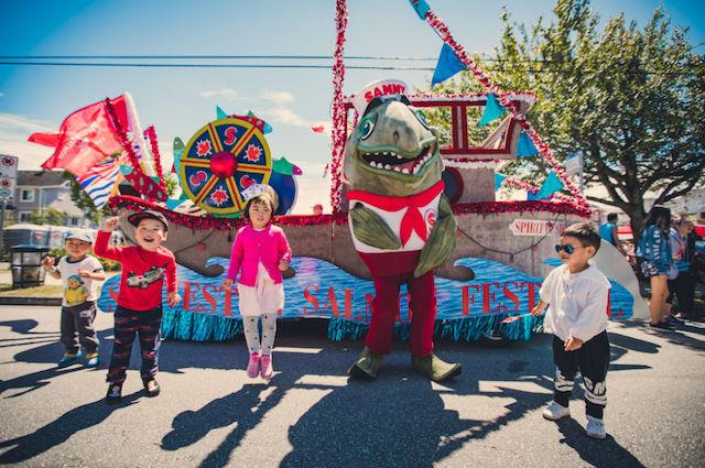 Steveston Salmon Festival Parade
