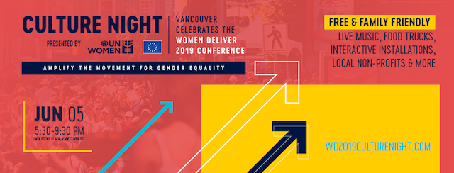 Culture Night 2019 Women Deliver