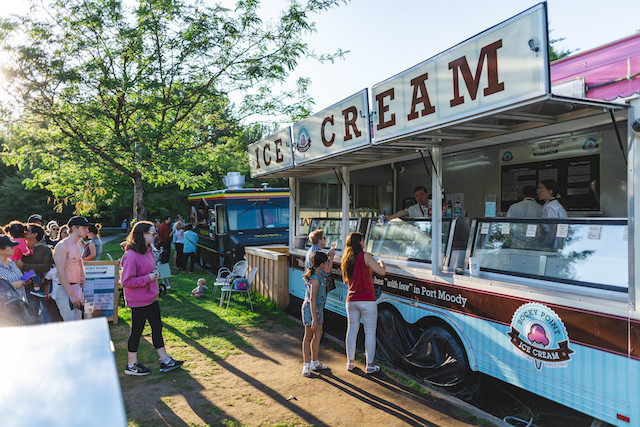 Coquitlam Ice Cream Food Truck