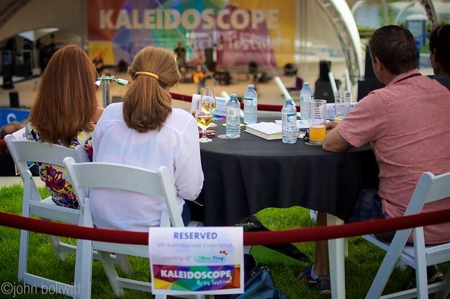 Kaleidoscope Arts Festival VIP Winner