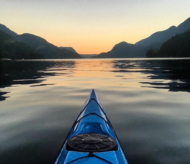 Night Kayak Deep Cove