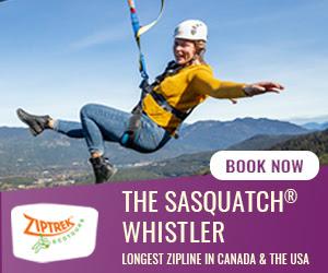 ZipTrek Sasquatch Zipline in Whistler