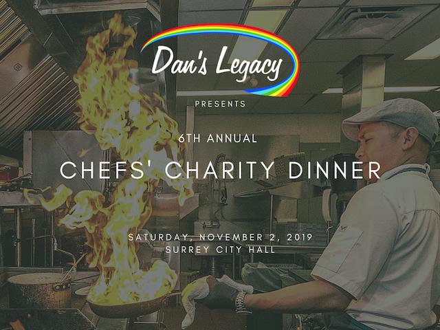 Dan's Legacy Chefs Charity Dinner