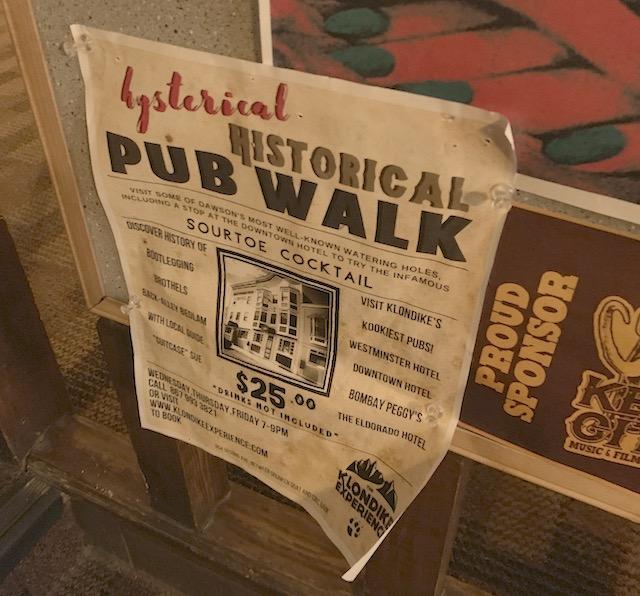 Dawson Pub Walk
