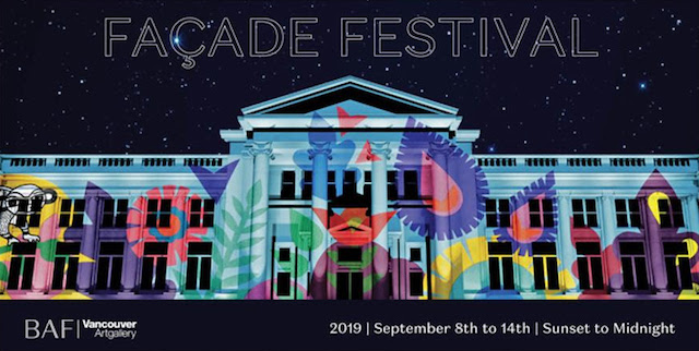 Façade Festival at the Vancouver Art Gallery