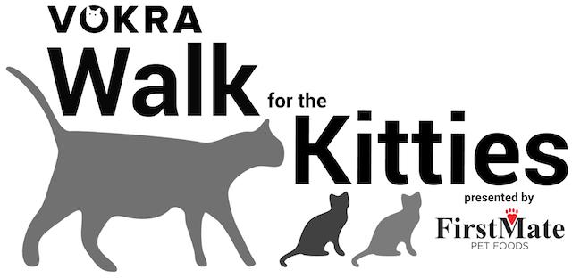VOKRA Walk for the Kitties