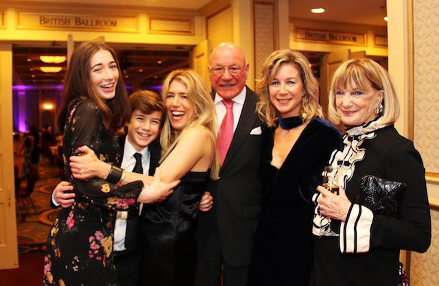 2018 Luminary Award Recipient Andrea Thomas-Hill and family