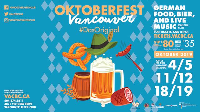 Oktoberfest at the Alpen Club 2019