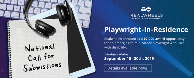 Realwheels Playwright-in-Residence