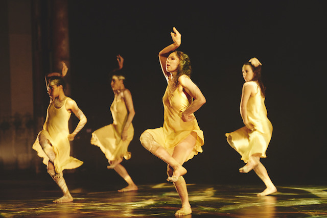Bangarra Dance Theatre. Photo by Edward Mulvihill.