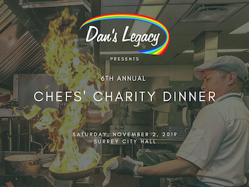 Dan's Legacy Chefs' Charity Dinner No 2, 2019