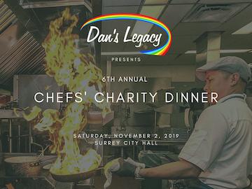 Dan's Legacy Chefs' Charity Dinner No 2, 2019