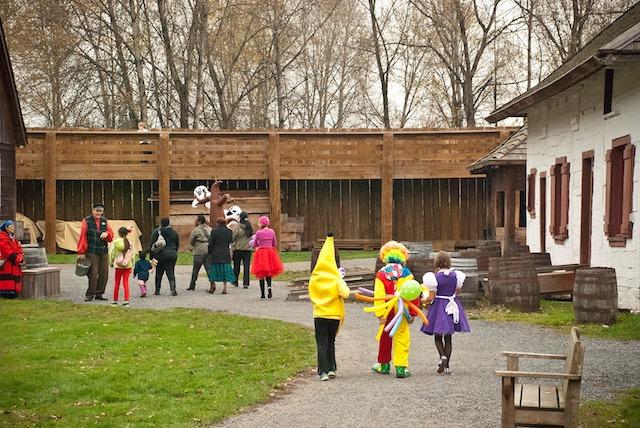 Halloween in Fort Langley