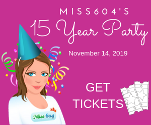 Miss604Party get tickets for Nov 14, 2019