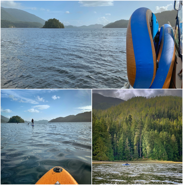 SUP Tofino - Stand Up Paddleboarding in Clayoquot Sound
