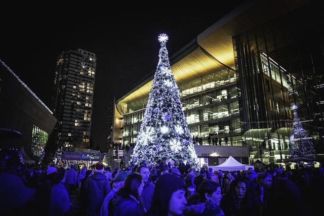 Surrey Tree Lighting City Hall