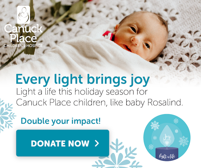 Light a Light - Canuck Place 2019