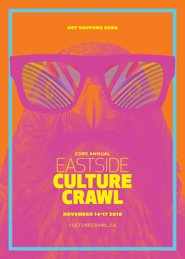 Eastside Culture Crawl Poster 2019