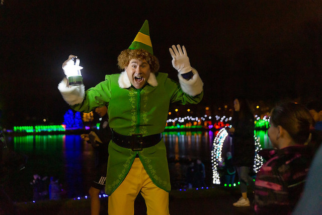 Elf at Lights at Lafarge