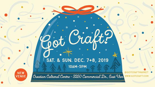 Got Craft? Holiday Market 2019